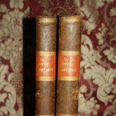 Libros antiguos: LAS SIETE PARTIDAS DEL REY D. ALFONSO EL SABIO. GREGORIO LOPEZ. T. 3 Y 4. 1844. Lote 287260353