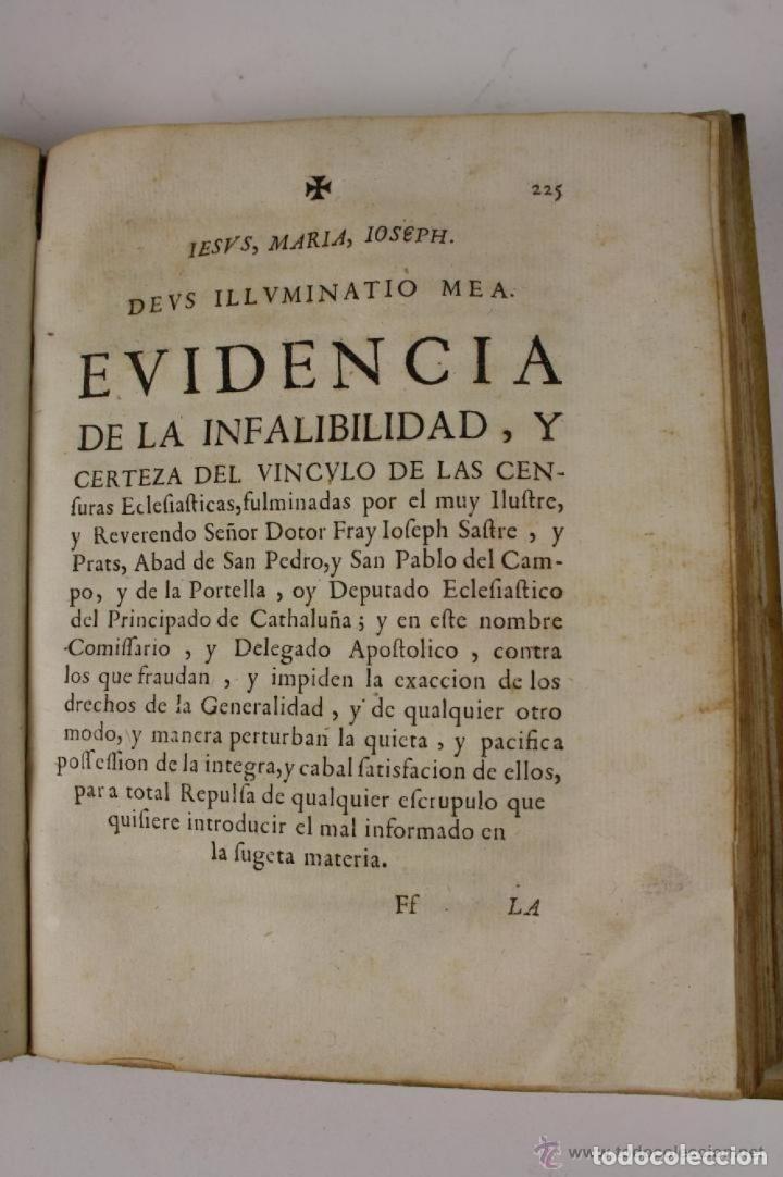 Libros antiguos: RECOPILACIO DE DIFERENTS VOTS, Y ALTRES DOCUMENTS. RAFAEL FIGUERO. BARCELONA 1682 - Foto 7 - 287483283