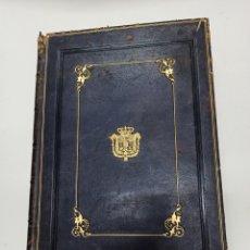 Libros antiguos: CUENTA GENERAL DEL ESTADO AÑO 1854, ENCUADERNACION DE LUJO FIRMADA POR GINESTA.. Lote 288697338