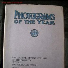 Libros antiguos: FOTOGRAFÍA, PHOTOGRAMS OF THE YEAR 1932 THE ANNUAL REVIEW FOR 1933 OF THE WORLD'S PICTORIAL PHOTOGRA. Lote 27409969