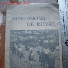 Libros antiguos: MUY RARO RUSIA FOTOGRAFÍA 1932. Lote 27233062