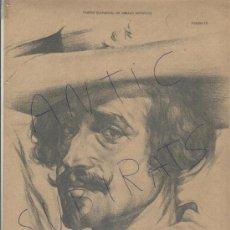 Libros antiguos: CURSO ELEMENTAL DE DIBUJO ARTISTICO. AREVALO Y CARBO. AÑO 1909.VALENCIA. VELAZQUEZ.CATEDRATICO.. Lote 21507902