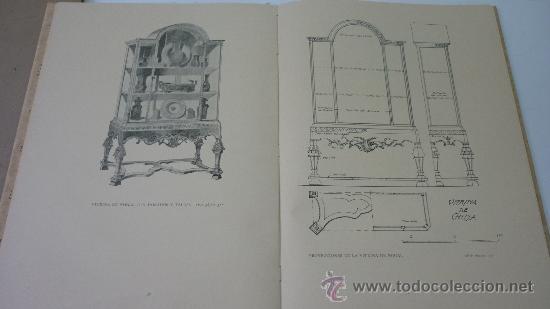 Libros antiguos: PROYECTOS DE MOBILIARIO Y DECORACION INGLESES. Ed. Canosa. Barcelona. 1929. Impecable, sin uso - Foto 2 - 27495759
