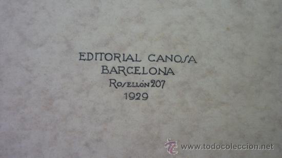 Libros antiguos: PROYECTOS DE MOBILIARIO Y DECORACION INGLESES. Ed. Canosa. Barcelona. 1929. Impecable, sin uso - Foto 4 - 27495759