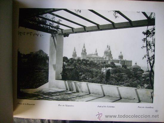 Libros antiguos: ESPECTACULAR DOCUMENTO FOTOGRAFICO DE LA EXPOSICION INTERNACIONAL DE BARCELONA AÑO 1929. - Foto 4 - 29104584
