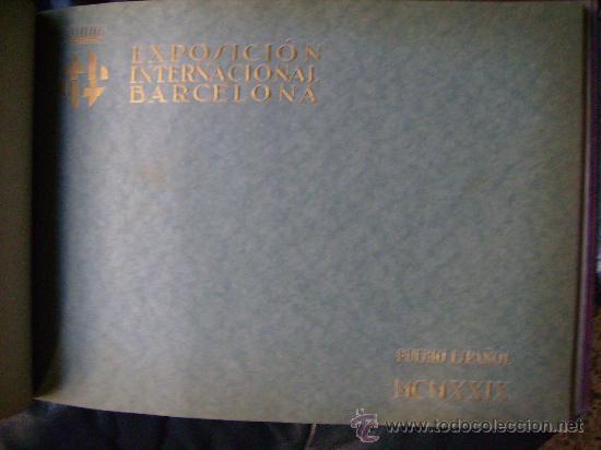 Libros antiguos: ESPECTACULAR DOCUMENTO FOTOGRAFICO DE LA EXPOSICION INTERNACIONAL DE BARCELONA AÑO 1929. - Foto 5 - 29104584