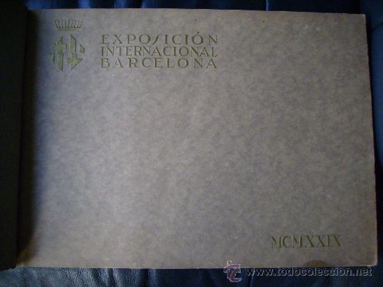 Libros antiguos: ESPECTACULAR DOCUMENTO FOTOGRAFICO DE LA EXPOSICION INTERNACIONAL DE BARCELONA AÑO 1929. - Foto 6 - 29104584