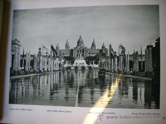 Libros antiguos: ESPECTACULAR DOCUMENTO FOTOGRAFICO DE LA EXPOSICION INTERNACIONAL DE BARCELONA AÑO 1929. - Foto 8 - 29104584