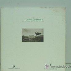 Libros antiguos: PRIMERAS FOTOGRAFIAS, DEPORTE Y SOCIEDAD A PRINCIPIOS DE SIGLO. LUIS CERNUDA FUNDACIÓN. Lote 29289044