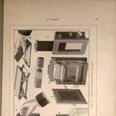Libros antiguos: LA PHOTOGRAPHIE MODERNE PRACTIQUE ET APPLICATIONS.LONDE, ALBERT (1888) PROFUSAMENTE ILUSTRADO.PARIS. Lote 30381649
