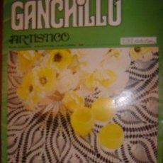 Libros antiguos: GANCHILLO ARTISTICO,...PUBLICACION EDUCATIVA-CULTURAL DE,..TRICOT SELECTION. Lote 51443388