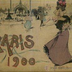 Libros antiguos: PARIS 1900 - LIBRO DE VISTAS DE LA EXPOSICIÓN DE PARÍS (WOLF, 1900) GRAN FORMATO. Lote 31640831