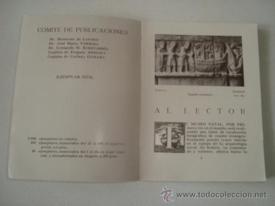 Libros antiguos: EL FICHERO FOTOGRÁFICO DEL MUSEO NAVAL. MADRID 1933 - Foto 2 - 31810522
