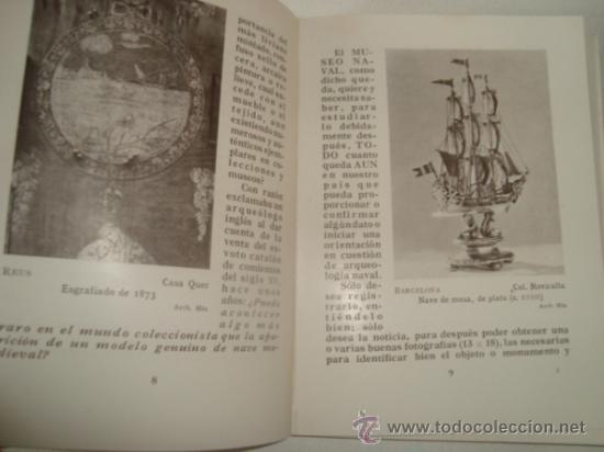 Libros antiguos: EL FICHERO FOTOGRÁFICO DEL MUSEO NAVAL. MADRID 1933 - Foto 4 - 31810522