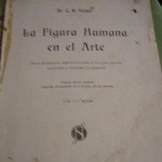Libros antiguos: DR. C.H.STRATZ. LA FIGURA HUMANA EN EL ARTE. SALVAT Y Cª, S EN C.,EDITORES 1915. Lote 32005609