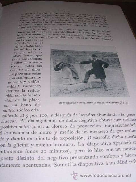 Libros antiguos: FOTOGRAFIA - REVISTA ,LA FOTOGRAFIA PRACTICA 1902 REVISTA MENSUAL ILUSTRADA DIRECTOR J.BALTA DE CELA - Foto 5 - 34783492