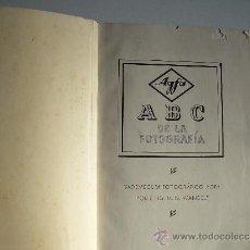 Libros antiguos: FOTOGRAFIA AGFA, LIBRO A.B.C. DE LA FOTOGRAFIA. Lote 34954346