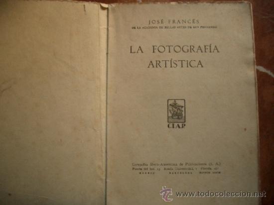 Libros antiguos: Raro Arte Fotográfico - Foto 2 - 35777719