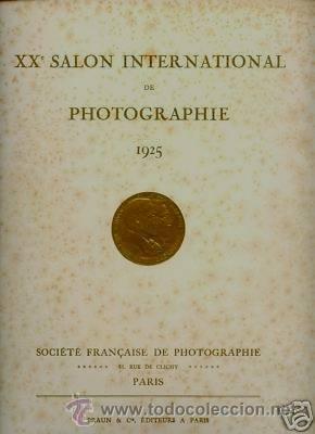 XXÈ. SALON INTERNATIONAL DE PHOTOGRAPHIE DE PARIS 1925. FOTOGRAFIA PICTORALISTA. (Libros Antiguos, Raros y Curiosos - Bellas artes, ocio y coleccion - Diseño y Fotografía)