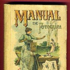 Libros antiguos: PEQUEÑO LIBRO, MANUAL DE FOTOGRAFIA , SATURNINO CALLEJA, MADRID 1934 , ORIGINAL. Lote 37350699