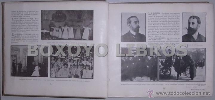 Libros antiguos: Crónica gráfica de 1905 - Foto 2 - 39470666