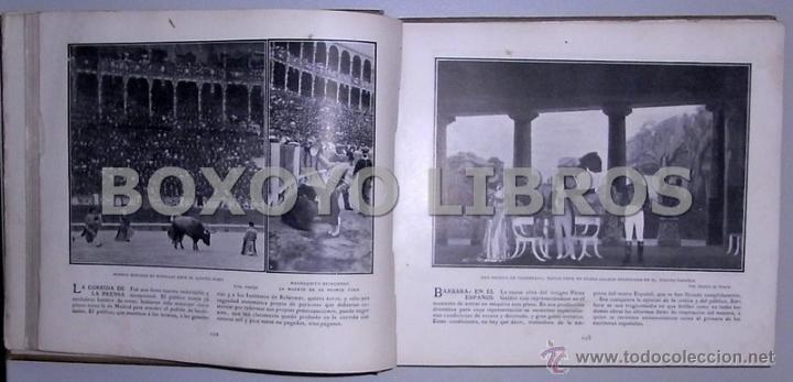 Libros antiguos: Crónica gráfica de 1905 - Foto 3 - 39470666