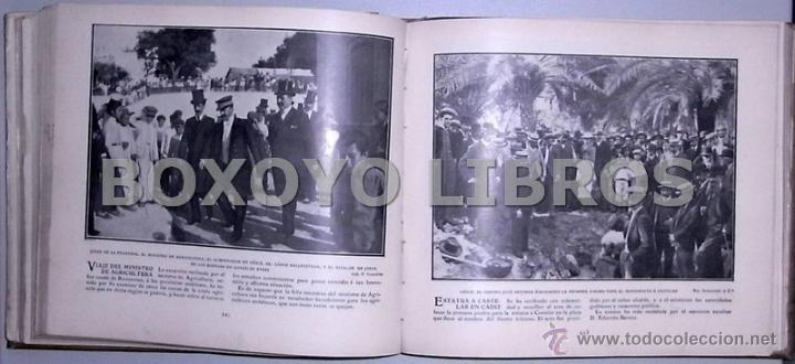Libros antiguos: Crónica gráfica de 1905 - Foto 4 - 39470666