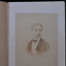 Libros antiguos: ANTONIO FERNÁNDEZ GRILO. ODA AL PRINCIPE DON ALFONSO XII ... (1870) INCUNABLE FOTOGRÁFICO ALBÚMINA. Lote 50041392