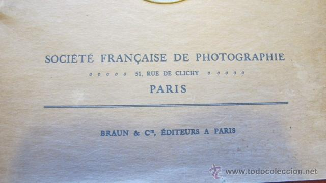Libros antiguos: ANTIGUO ALBUM - XXI SALON INTERNATIONAL DART PHOTOGRAPHIQUE DE PARIS -AÑO 1926- BRAUN & CIE. R-2079 - Foto 3 - 44144418