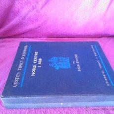 Libros antiguos: VESTITS TIPICS D'ESPANYA, JOAN D'IVORI. I, CATALUNYA, BALEARS I VALENCIA. II, NORD, CENTRE, SUD 1935. Lote 44737501