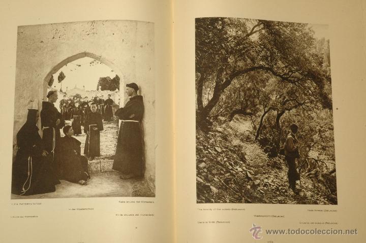 Libros antiguos: Das Unbekannte Spanien - España Incógnita - Magnífico Libro de Fotografias de Kurt Hielscher 1925 - Foto 3 - 100134203