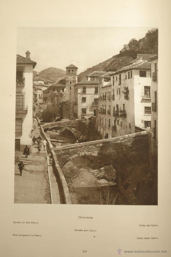 Libros antiguos: Das Unbekannte Spanien - España Incógnita - Magnífico Libro de Fotografias de Kurt Hielscher 1925 - Foto 5 - 100134203