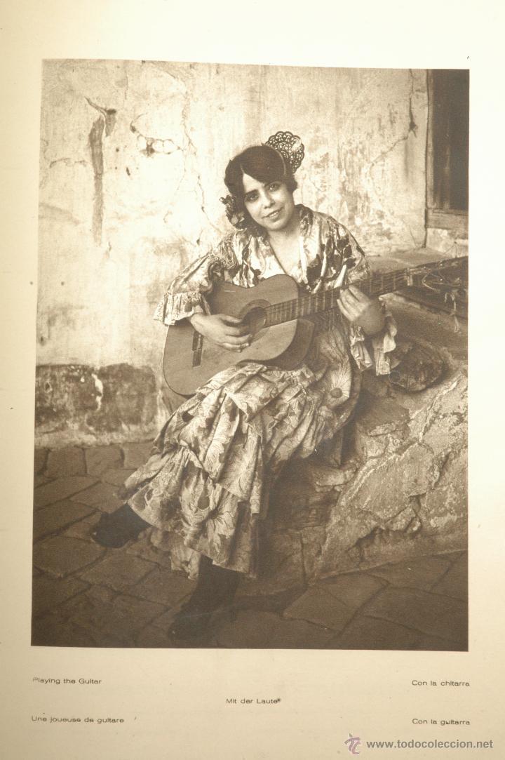 Libros antiguos: Das Unbekannte Spanien - España Incógnita - Magnífico Libro de Fotografias de Kurt Hielscher 1925 - Foto 6 - 100134203