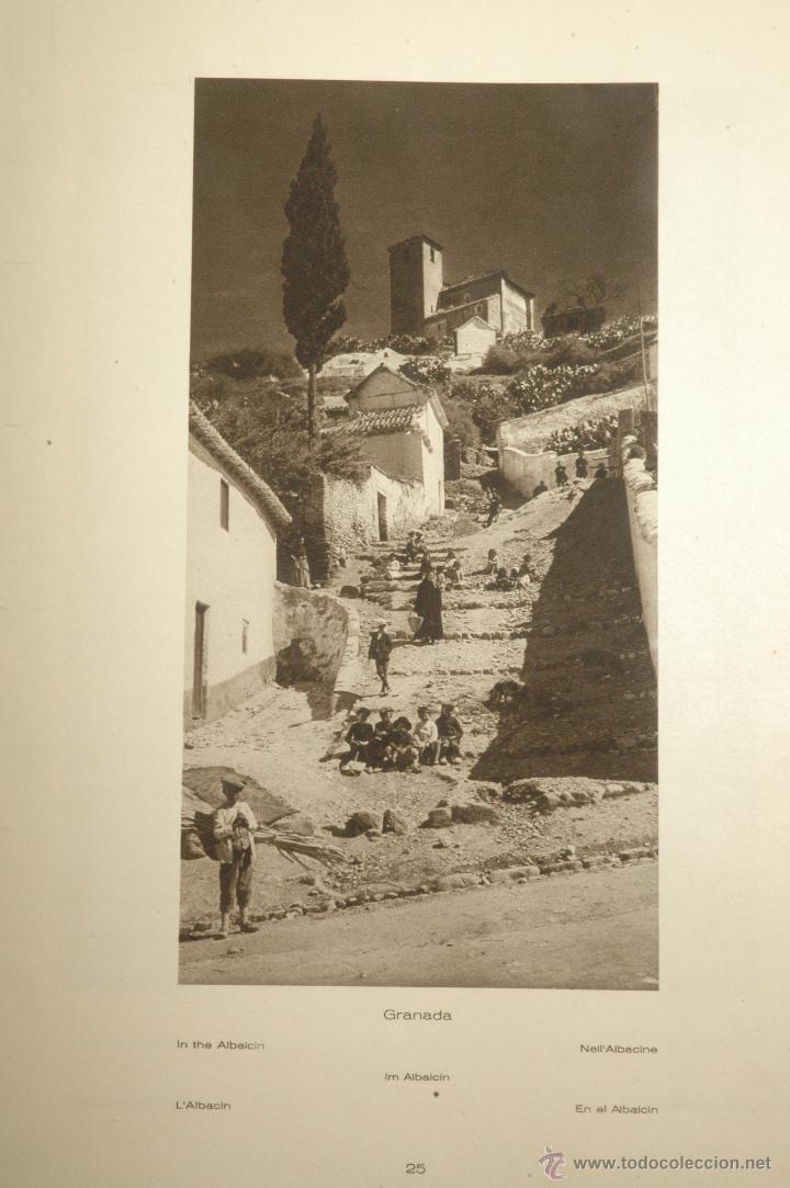 Libros antiguos: Das Unbekannte Spanien - España Incógnita - Magnífico Libro de Fotografias de Kurt Hielscher 1925 - Foto 7 - 100134203
