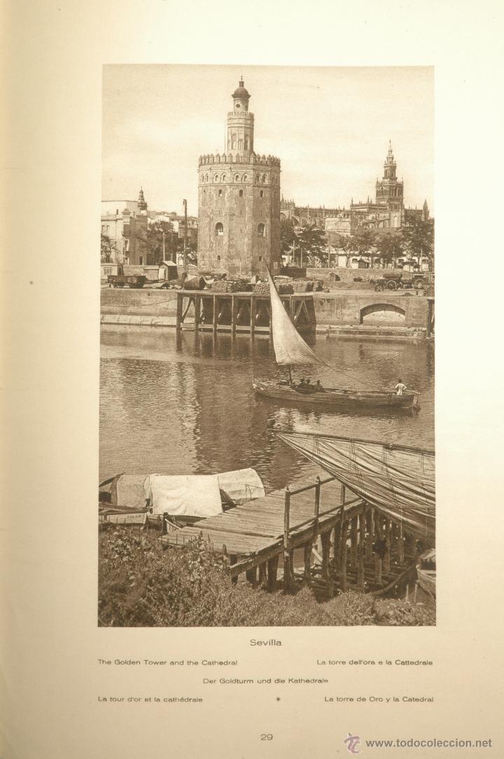 Libros antiguos: Das Unbekannte Spanien - España Incógnita - Magnífico Libro de Fotografias de Kurt Hielscher 1925 - Foto 8 - 100134203