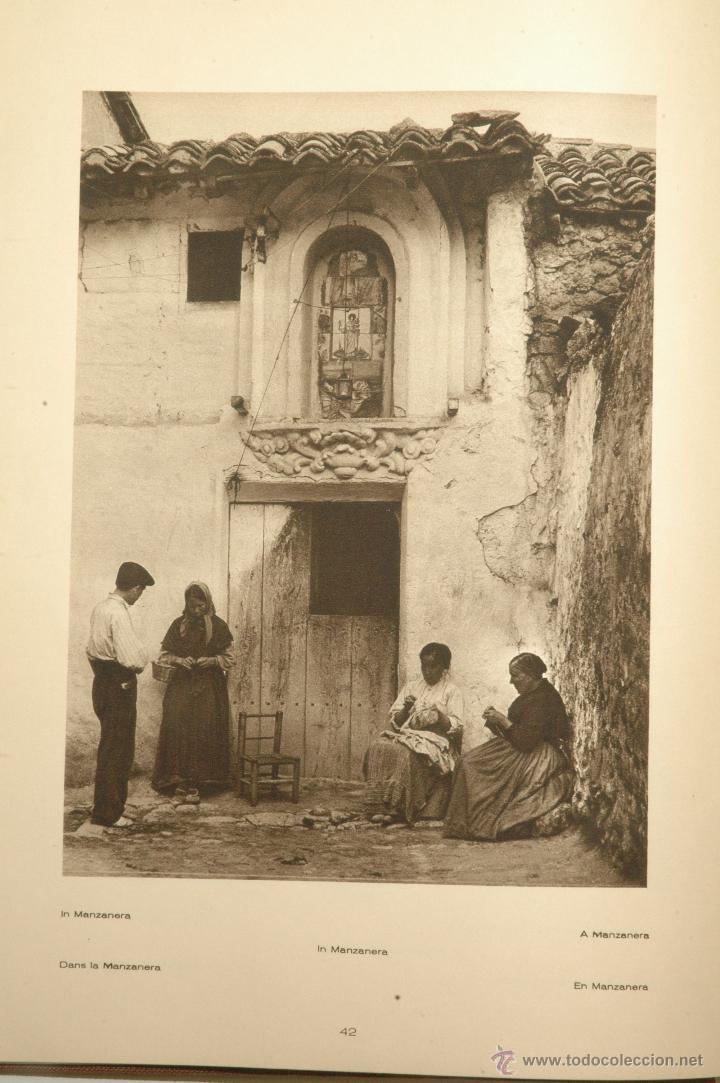 Libros antiguos: Das Unbekannte Spanien - España Incógnita - Magnífico Libro de Fotografias de Kurt Hielscher 1925 - Foto 9 - 100134203