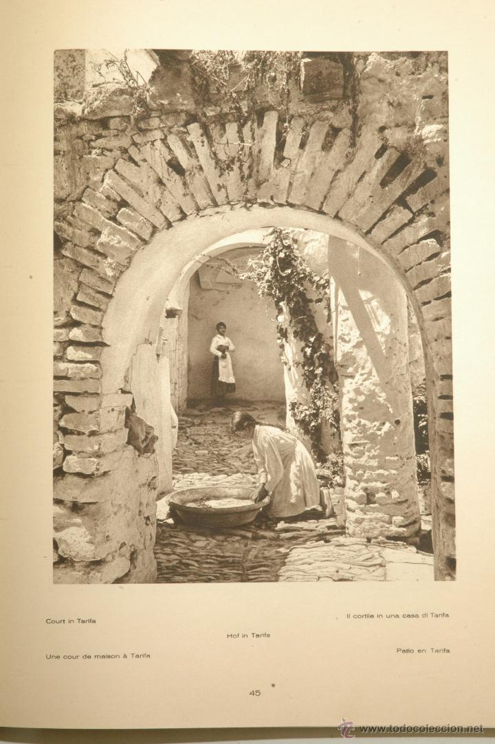 Libros antiguos: Das Unbekannte Spanien - España Incógnita - Magnífico Libro de Fotografias de Kurt Hielscher 1925 - Foto 10 - 100134203