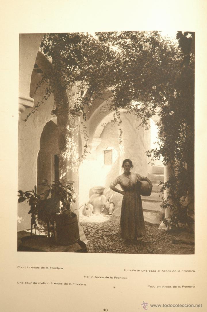 Libros antiguos: Das Unbekannte Spanien - España Incógnita - Magnífico Libro de Fotografias de Kurt Hielscher 1925 - Foto 12 - 100134203