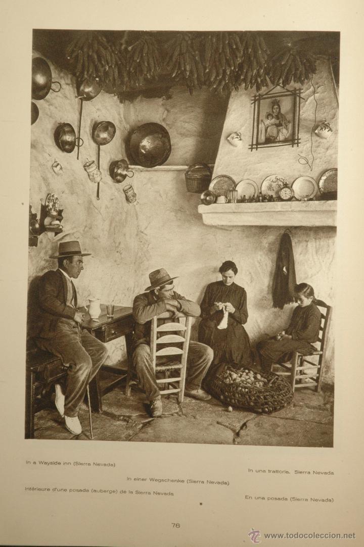 Libros antiguos: Das Unbekannte Spanien - España Incógnita - Magnífico Libro de Fotografias de Kurt Hielscher 1925 - Foto 17 - 100134203
