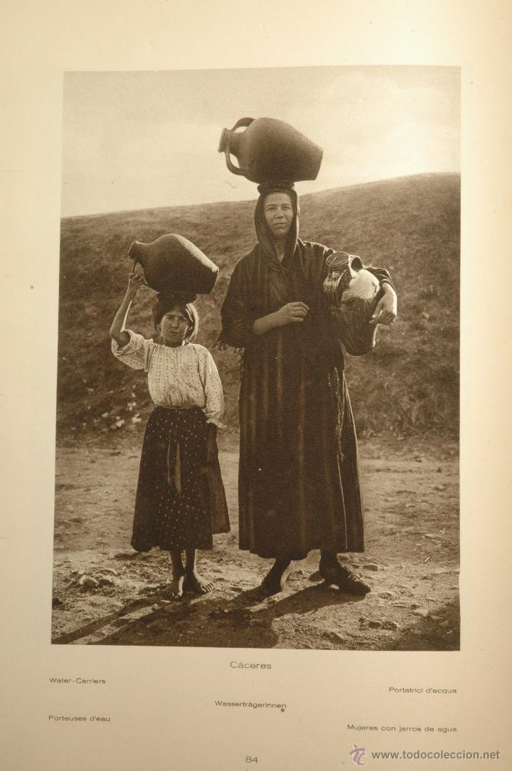 Libros antiguos: Das Unbekannte Spanien - España Incógnita - Magnífico Libro de Fotografias de Kurt Hielscher 1925 - Foto 19 - 100134203