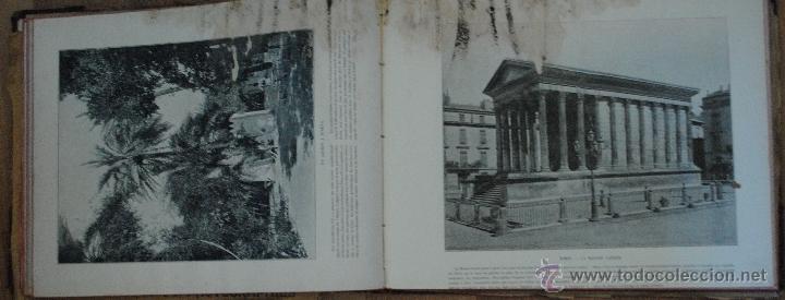 Libros antiguos: LE PANORAMA, MERVEILLES DE FRANCE ALGERIE BELGIQUE SUISSE, UN GRAND PANORAMA ET 14 PHOTOGRAPHIES - Foto 4 - 45621312