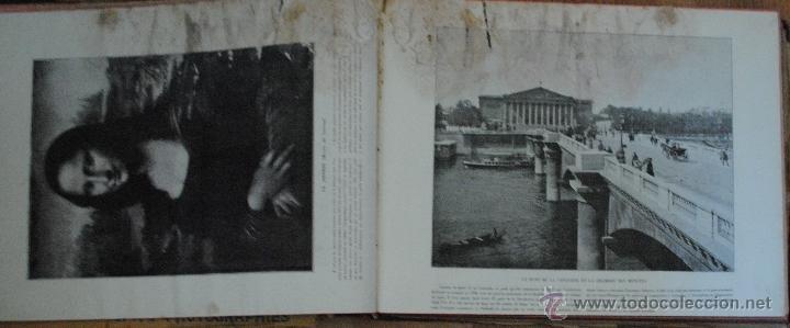 Libros antiguos: LE PANORAMA, MERVEILLES DE FRANCE ALGERIE BELGIQUE SUISSE, UN GRAND PANORAMA ET 14 PHOTOGRAPHIES - Foto 5 - 45621312
