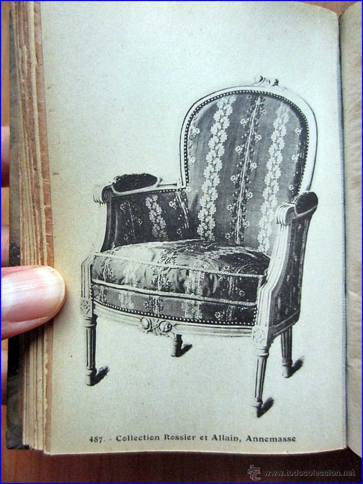 Raro libro del xix de fotos de muebles antiguos comprar for Clasicos del diseno muebles