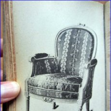 Libros antiguos: RARO LIBRO DEL XIX DE FOTOS DE MUEBLES ANTIGUOS.. Lote 45946434