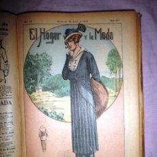 Livres anciens: REVISTA DE LA MODA - AÑO 1915 - BELLOS GRABADOS EN COLOR - AÑO COMPLETO.. Lote 46775426