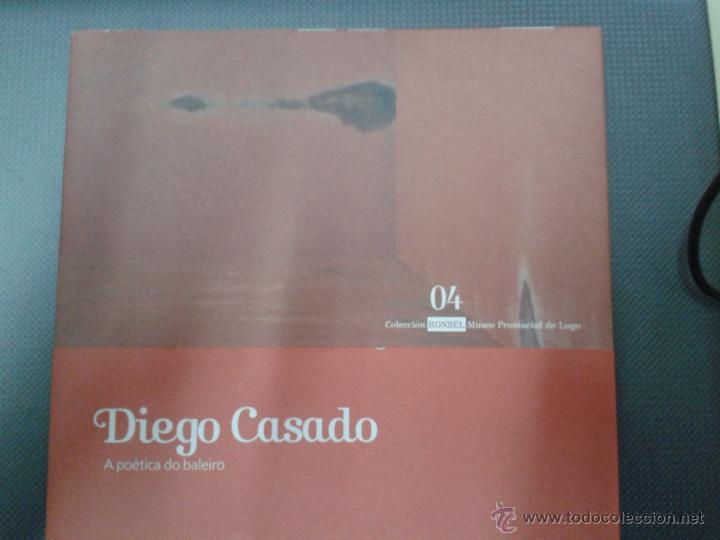 DIEGO CASADO A POETICA DO BALEIRO, COLECCION RONSEL 04 MUSEO PROVINCIAL LUGO 32 PAGINAS (Libros Antiguos, Raros y Curiosos - Bellas artes, ocio y coleccion - Diseño y Fotografía)