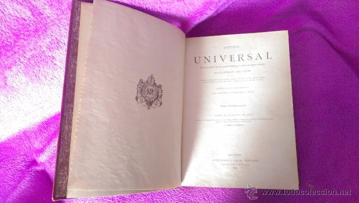 Libros antiguos: H. UNIVERSAL, HISTORIA DEL TRAJE, GUILLERMO ONCKEN, NEMESIO FERNANDEZ, FEDERICO HOTTENROTH 1894 - Foto 2 - 48948574