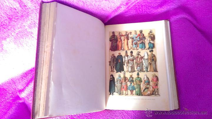 Libros antiguos: H. UNIVERSAL, HISTORIA DEL TRAJE, GUILLERMO ONCKEN, NEMESIO FERNANDEZ, FEDERICO HOTTENROTH 1894 - Foto 3 - 48948574