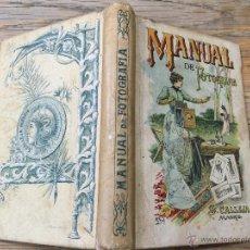 Libros antiguos: MANUAL DE FOTOGRAFIA PARA AFICIONADOS - EDITORIAL SATURNINO CALLEJA - ORIGINAL. Lote 49042456