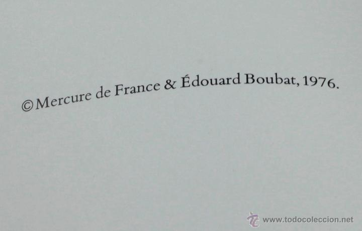 Libros antiguos: LA survivance, fotografías de edouard Boubat, mercure de france, 1976. 28x27 cm. - Foto 8 - 49112467